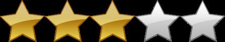 calificación 3 estrellas