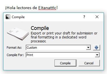 scrivener-compile